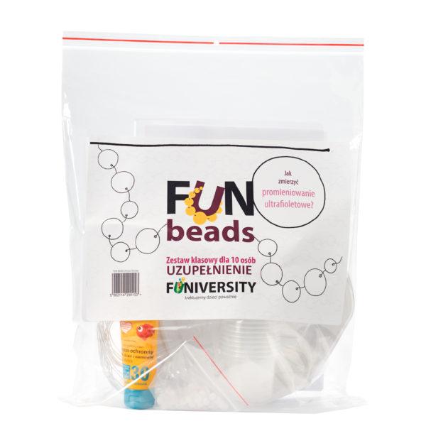 fun beads - eksperyment dla dzieci szkolnych - uzupełnienie