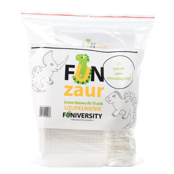 Fun Zaur eksperyment dla dzieci szkolnych - uzupełnienie