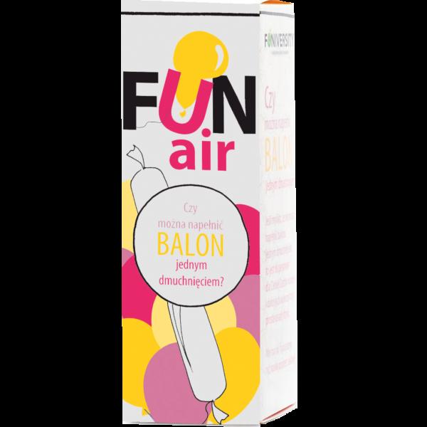 czy można napełnić balon jednym dmuchnięciem? eksperyment dla dzieci