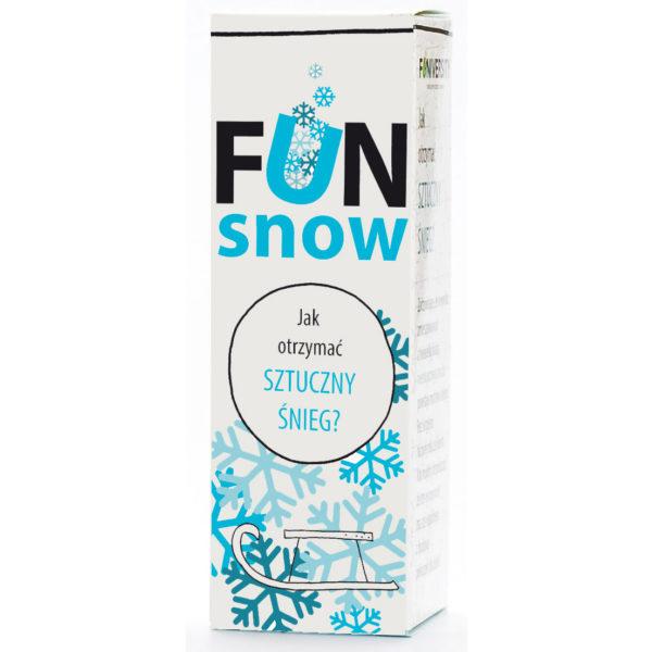 jak otrzymać sztuczny śnieg - eksperyment dla dzieci