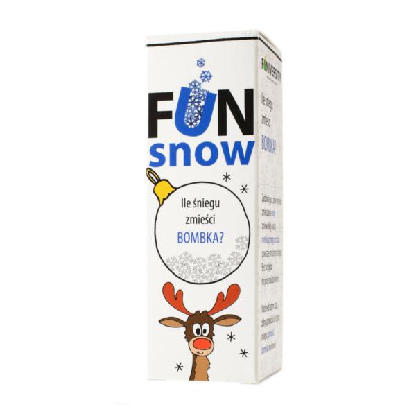 eksperyment dla dzieci - ile śniegu zmieści bombka?
